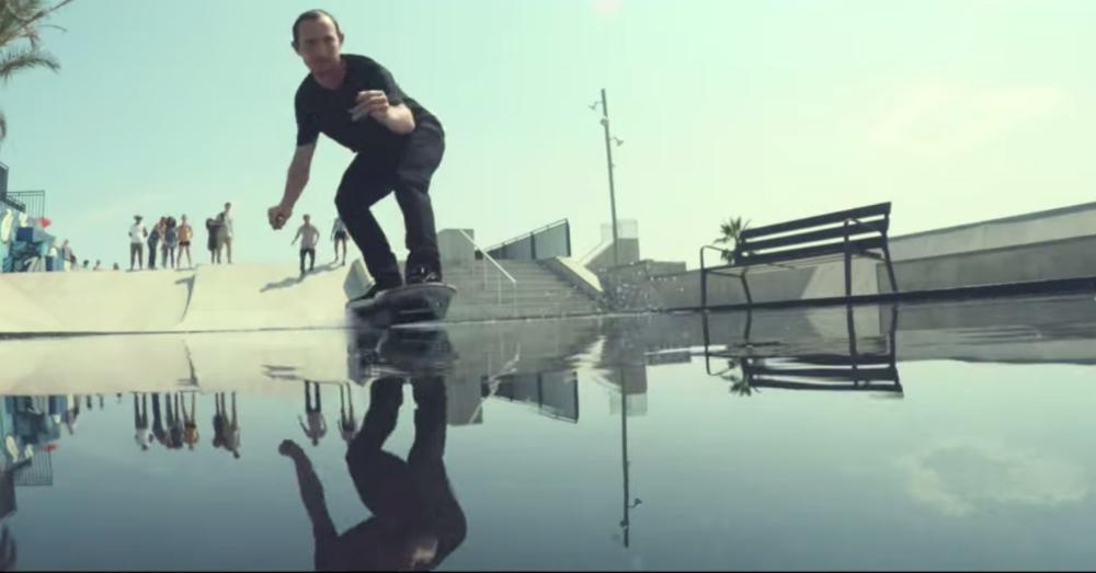Lexus Hoverboard Over Water
