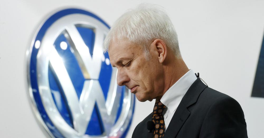 05.31.17 - Volkswagen CEO Matthias Müller