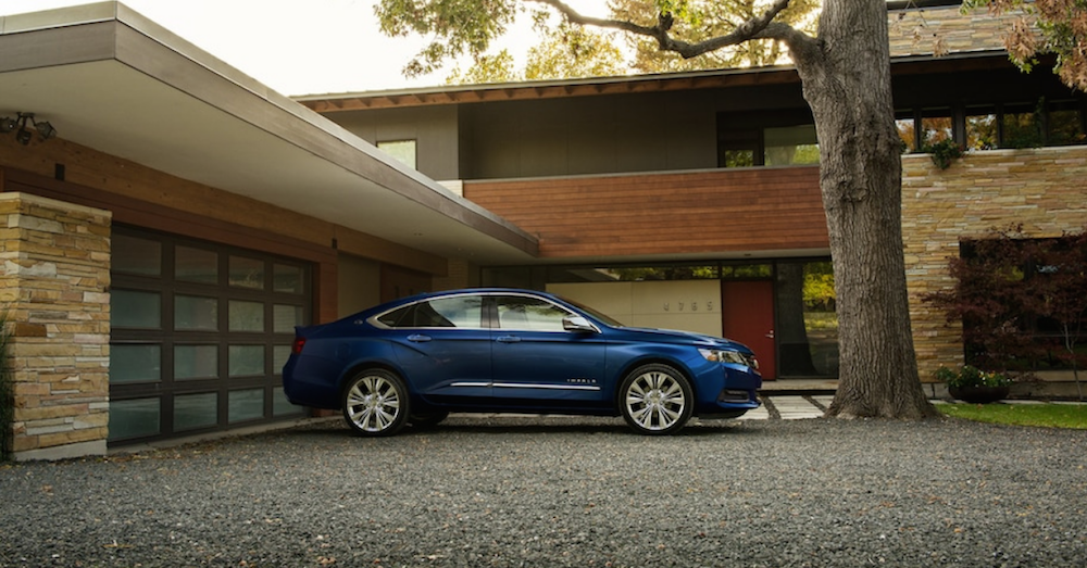 Larger is Better with the Chevrolet Impala