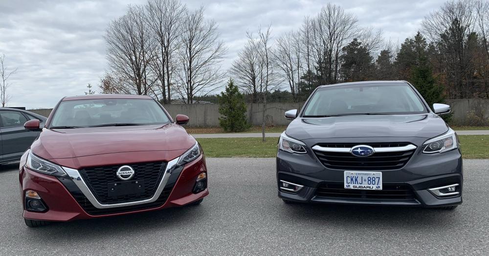Nissan Altima or Subaru Legacy: Choose Your Midsize Sedan
