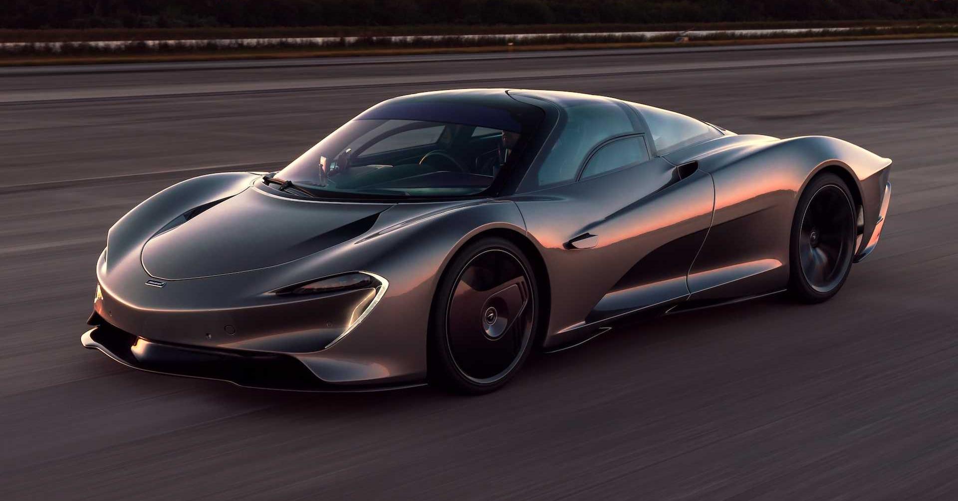 Dream Car Series: McLaren Speedtail