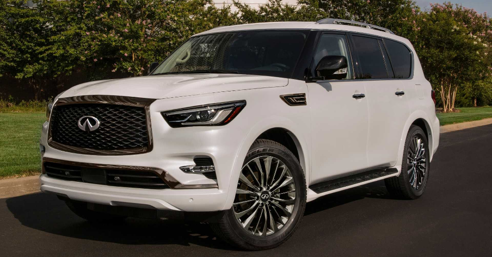 2021 INFINITI QX80: Luxury Power in a Great SUV