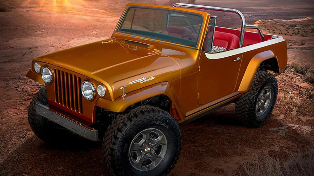Jeep Jeepster Beach Concept