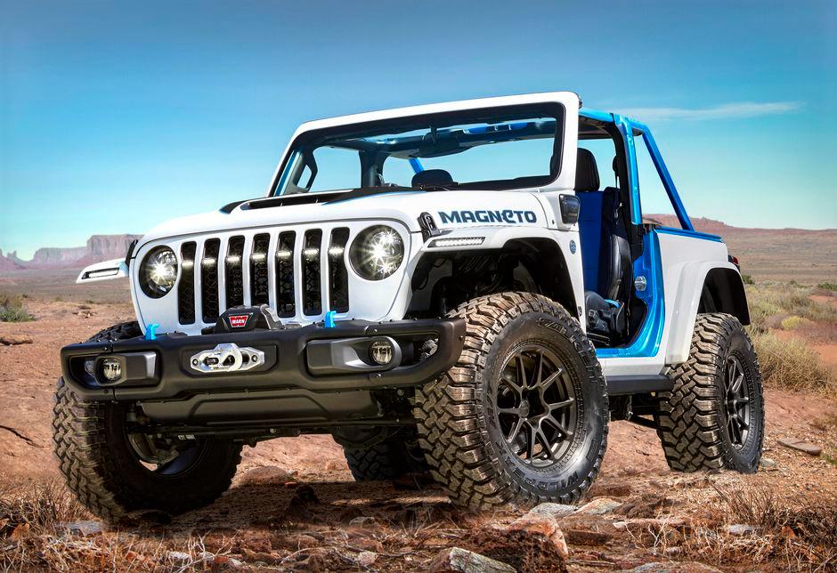 Jeep Magneto Wrangler Concept