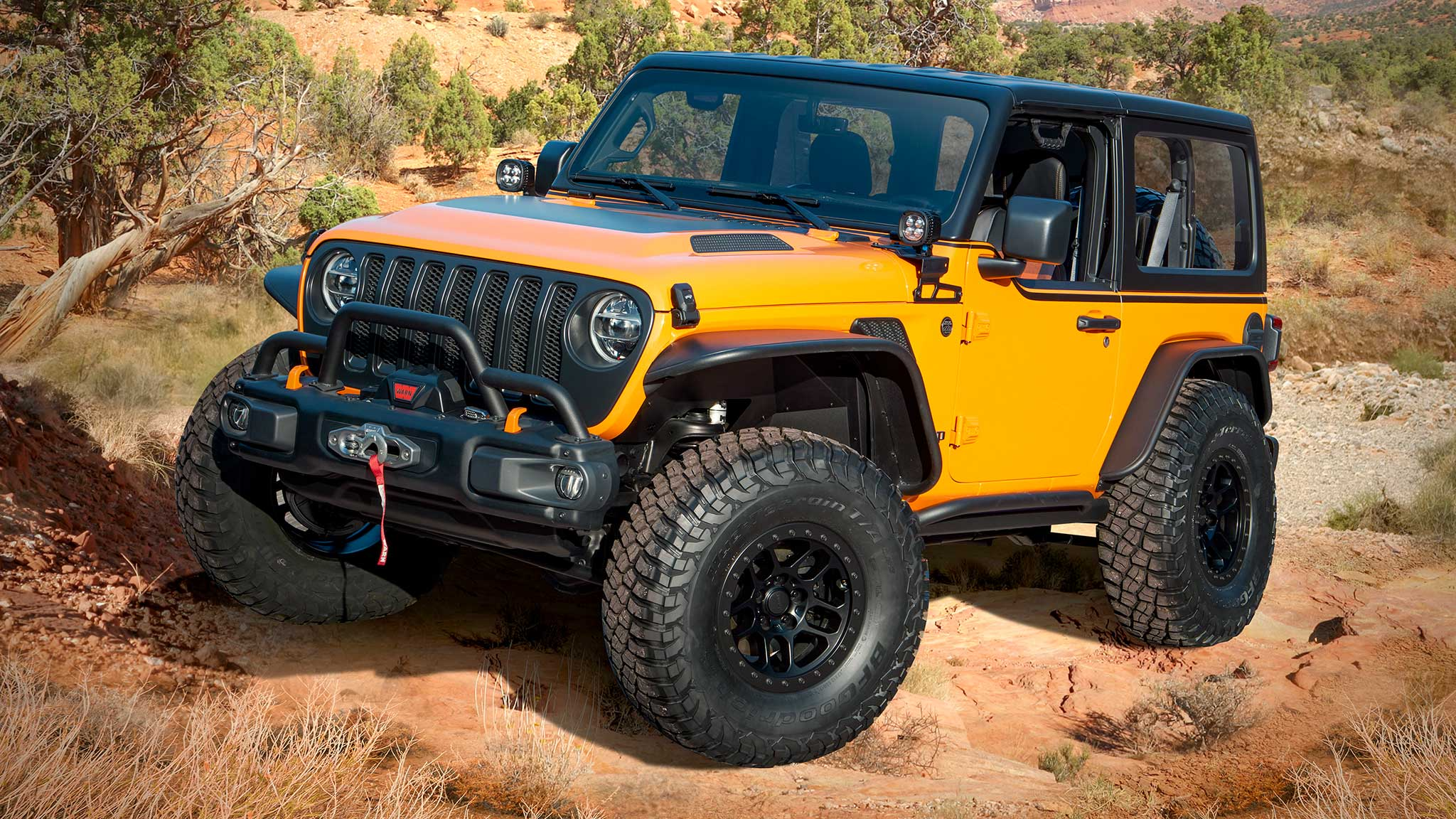 Jeep Wrangler Orange Peelz Concept