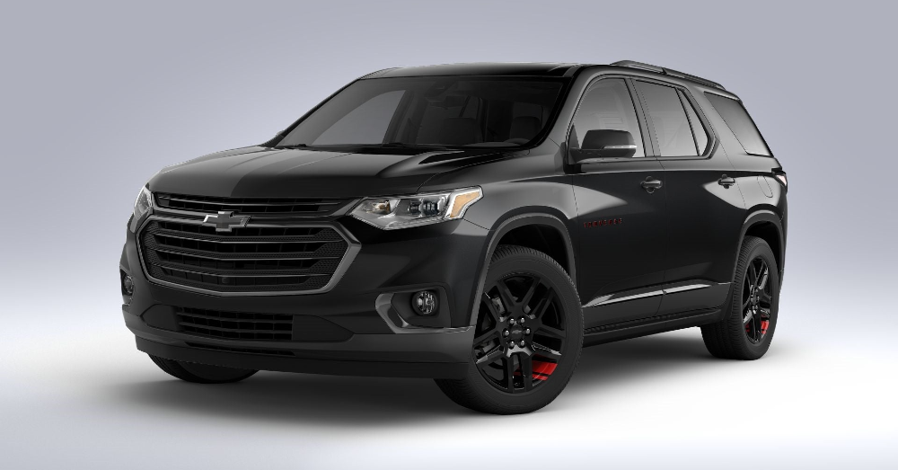 Choose the Premier Level of the Chevrolet Traverse