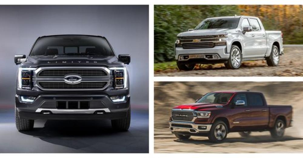 Truck Wars: F-Series vs Silverado vs Ram 1500