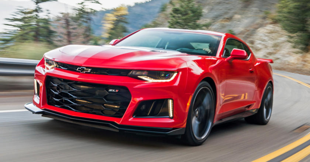 Amazing Aggression Awaits You in the Chevrolet Camaro ZL1