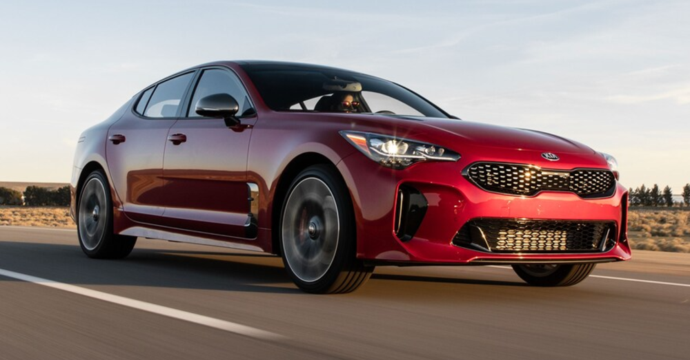 Express Your Drive in the Kia Stinger GT2