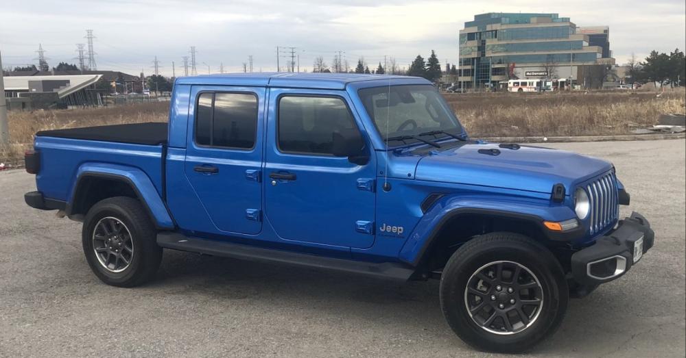 Jeep Gladiator Overland – A Sensible Drive