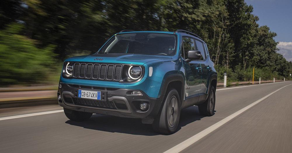 Jeep Renegade EV