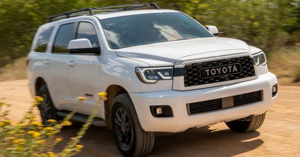 Toyota Sequoia Platinum – The SUV Your Family Loves to Drive