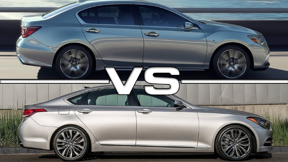 Choosing Between the G80 and the TLX